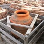 Rustic, Reclaimed Garden Urns
