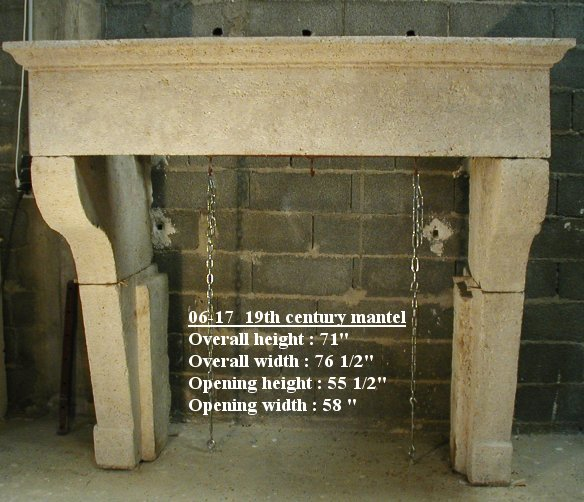Reclaimed 19th Century Fireplace Mantel