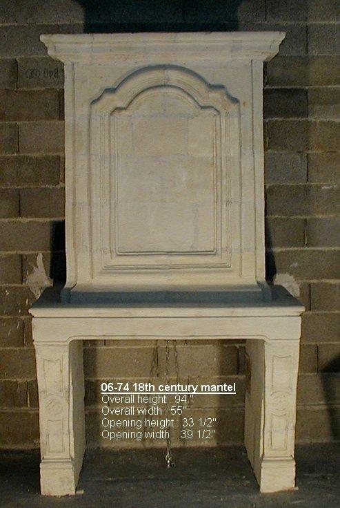 18th Century Fireplace Mantel