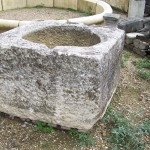 Ancient Reclaimed Stone Well Trough