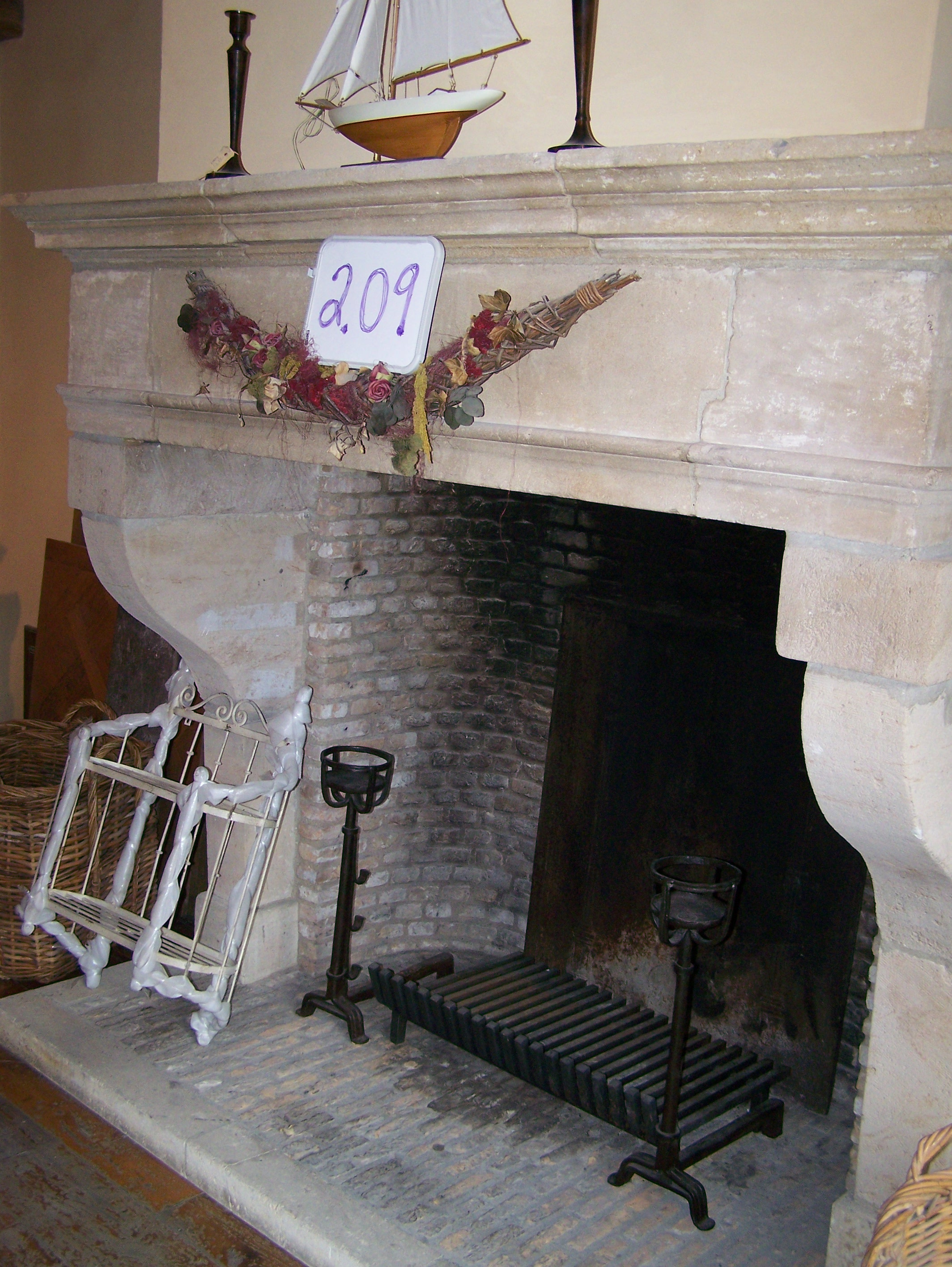 Reclaimed 19th Century Fireplace Mantel