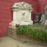 Rustic Reclaimed European Fountain