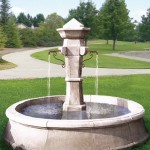 Rustic European Reclaimed Fountain