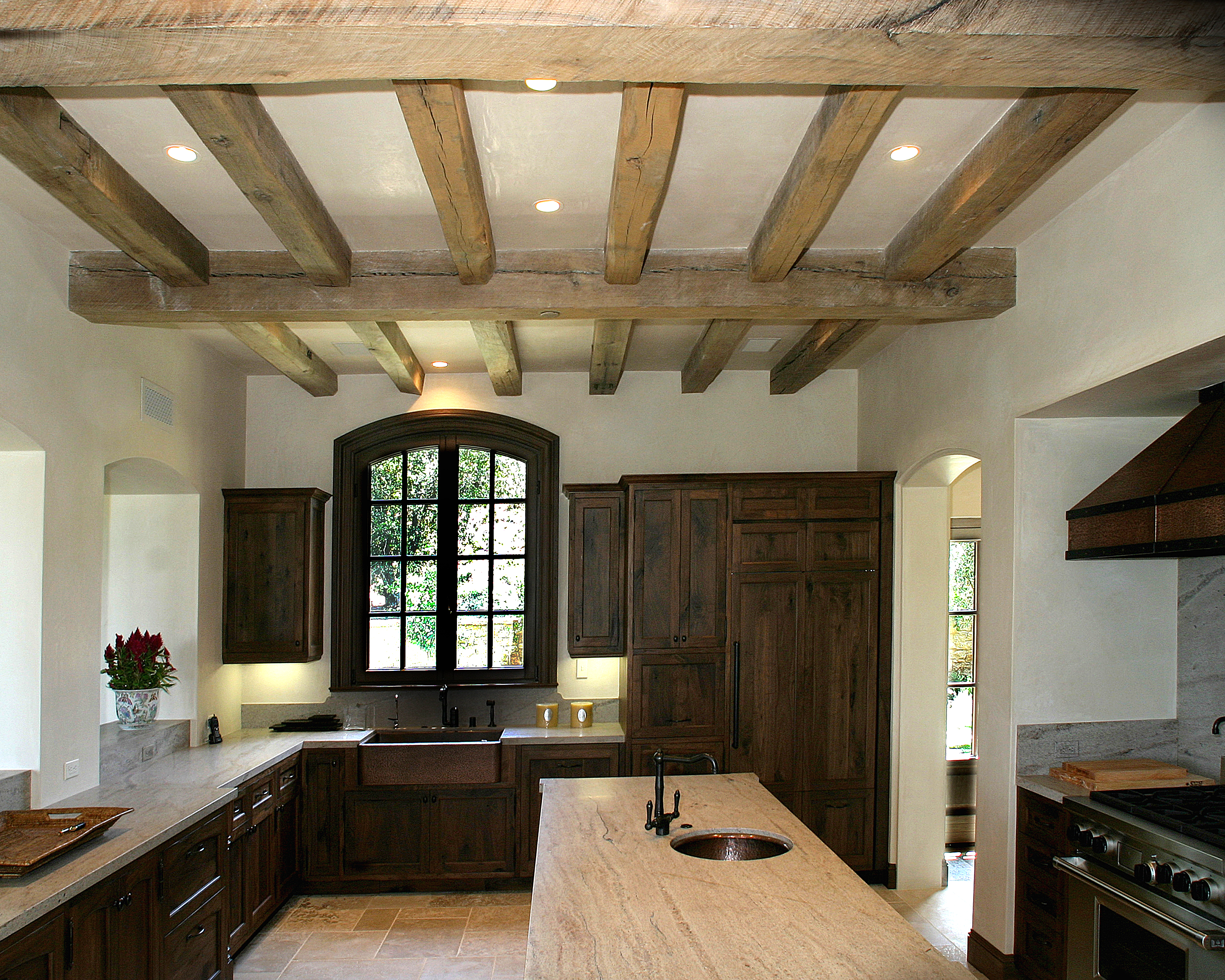 Oak Reclaimed Original Rough Sawn Beams