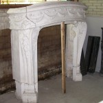 Reclaimed French Fireplace
