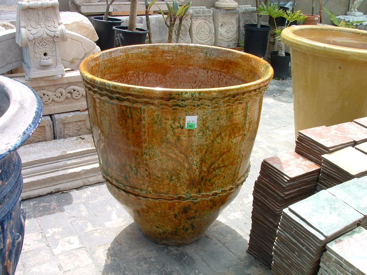Reclaimed Italian Garden Pot