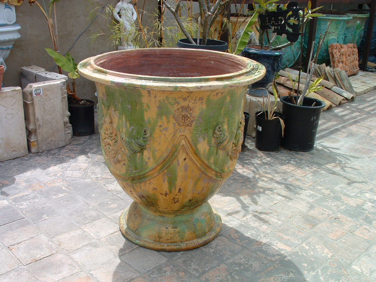 Antique European Garden Pot