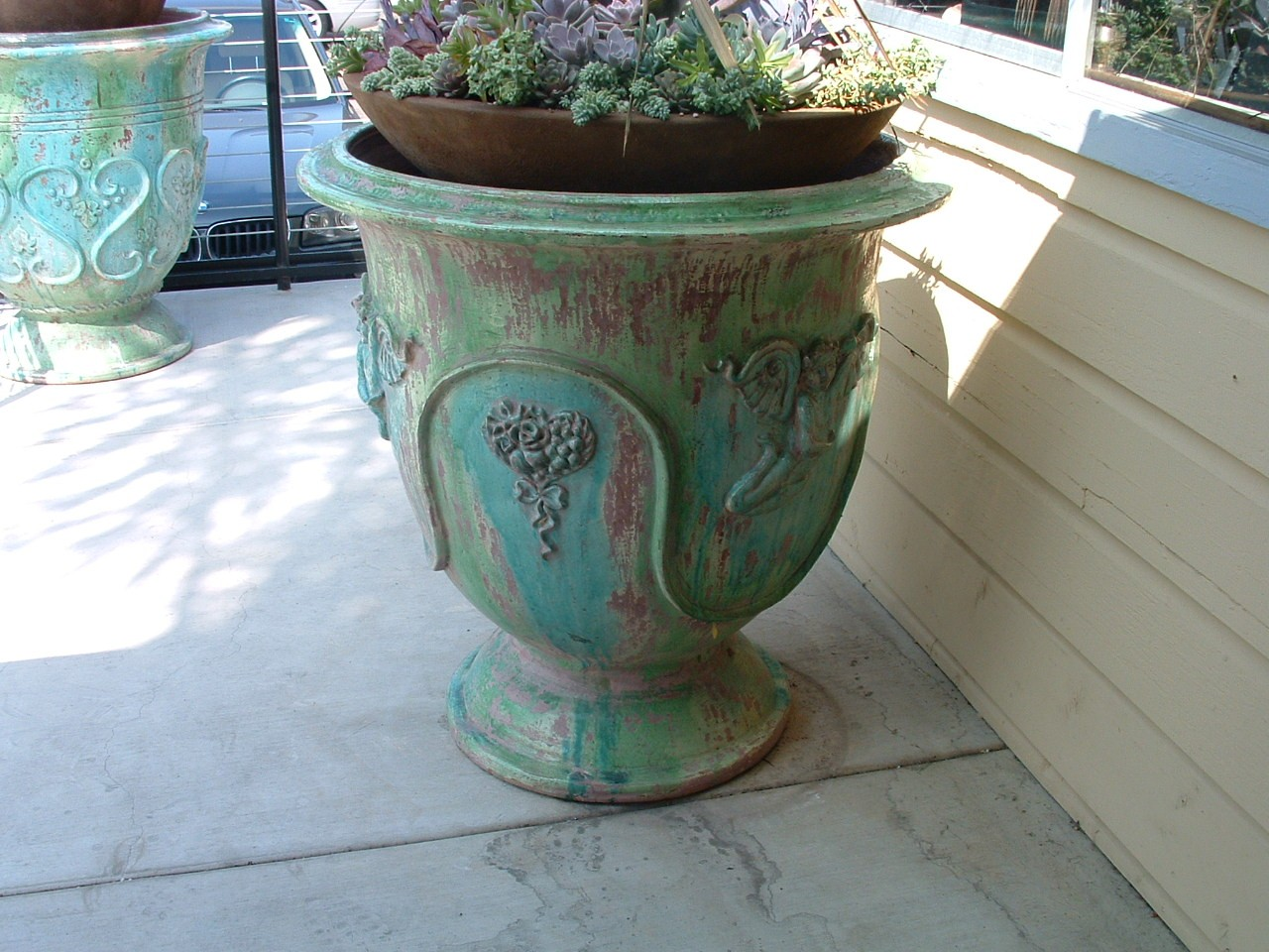 Antique Italian Garden Pot