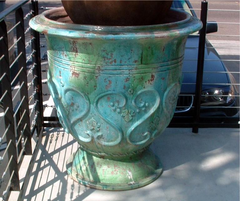 Antique Italian Garden Pot
