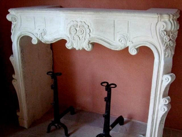 Reclaimed European Fireplace