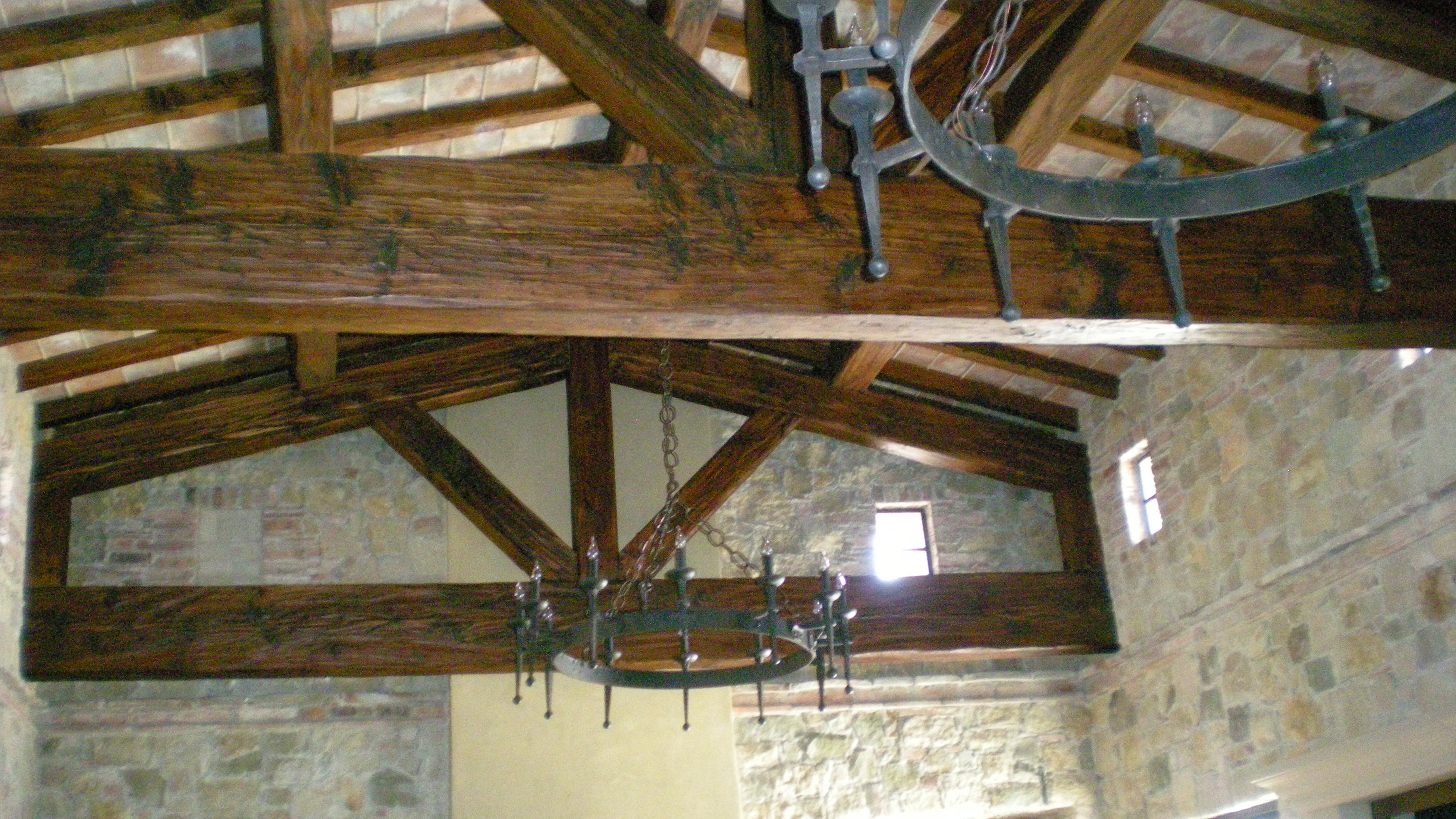 Original Old Pine Reclaimed Beams