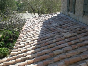 European reclaimed terra cotta roofing
