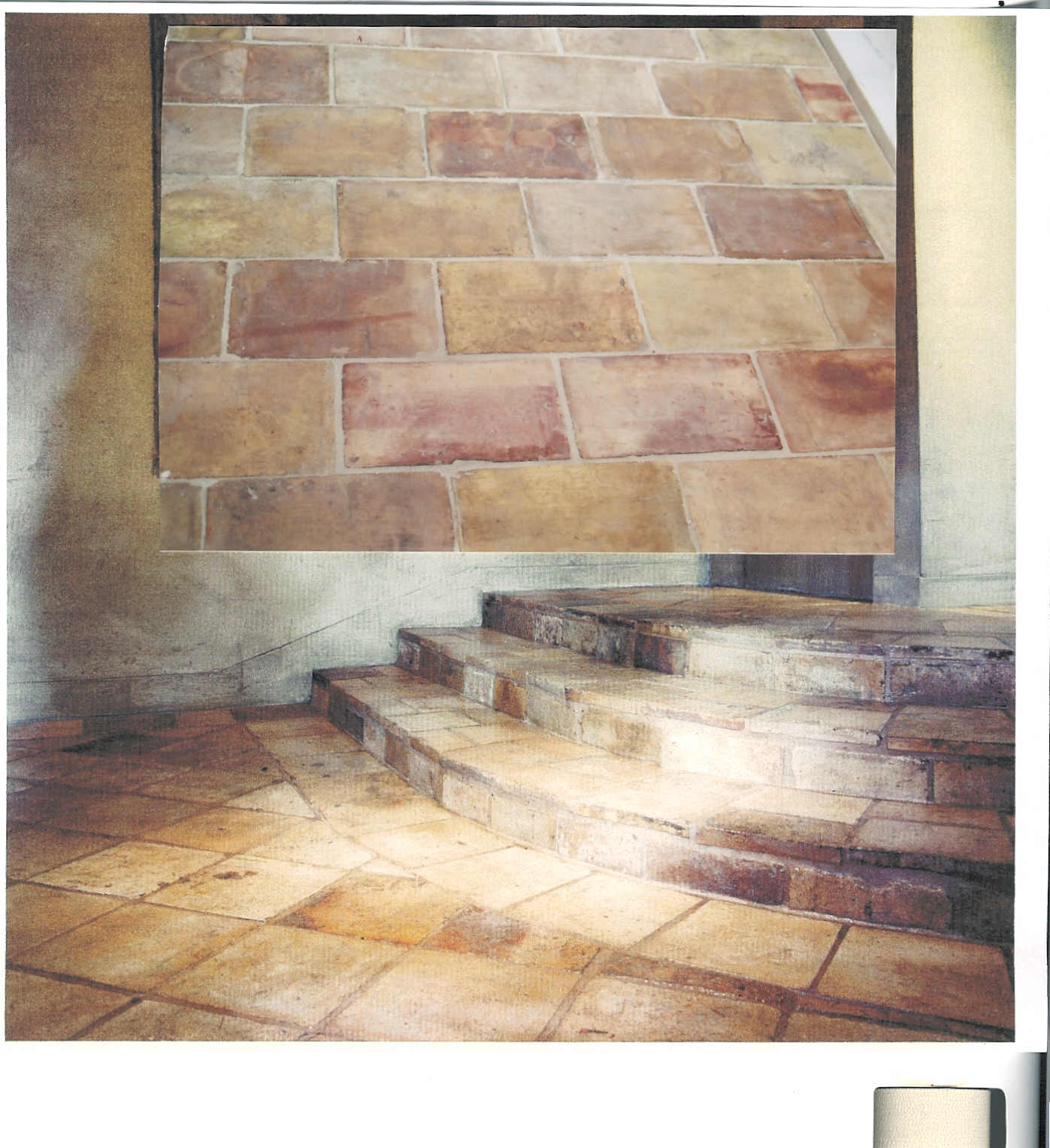 French Rose Terra Cotta Reclaimed Flooring