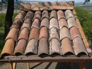 Italian reclaimed terra cotta roofing