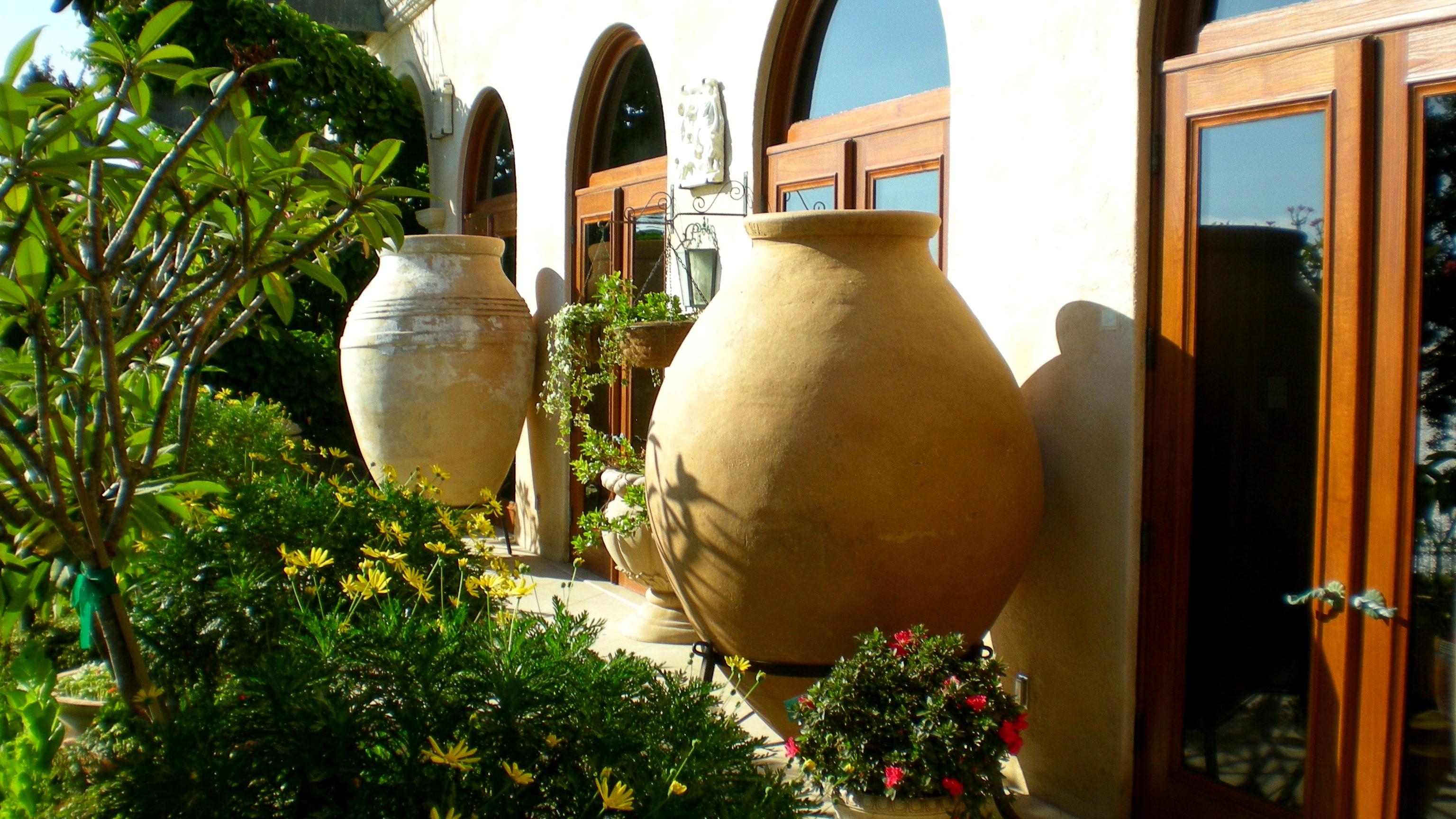 Reused Ancient European Pot