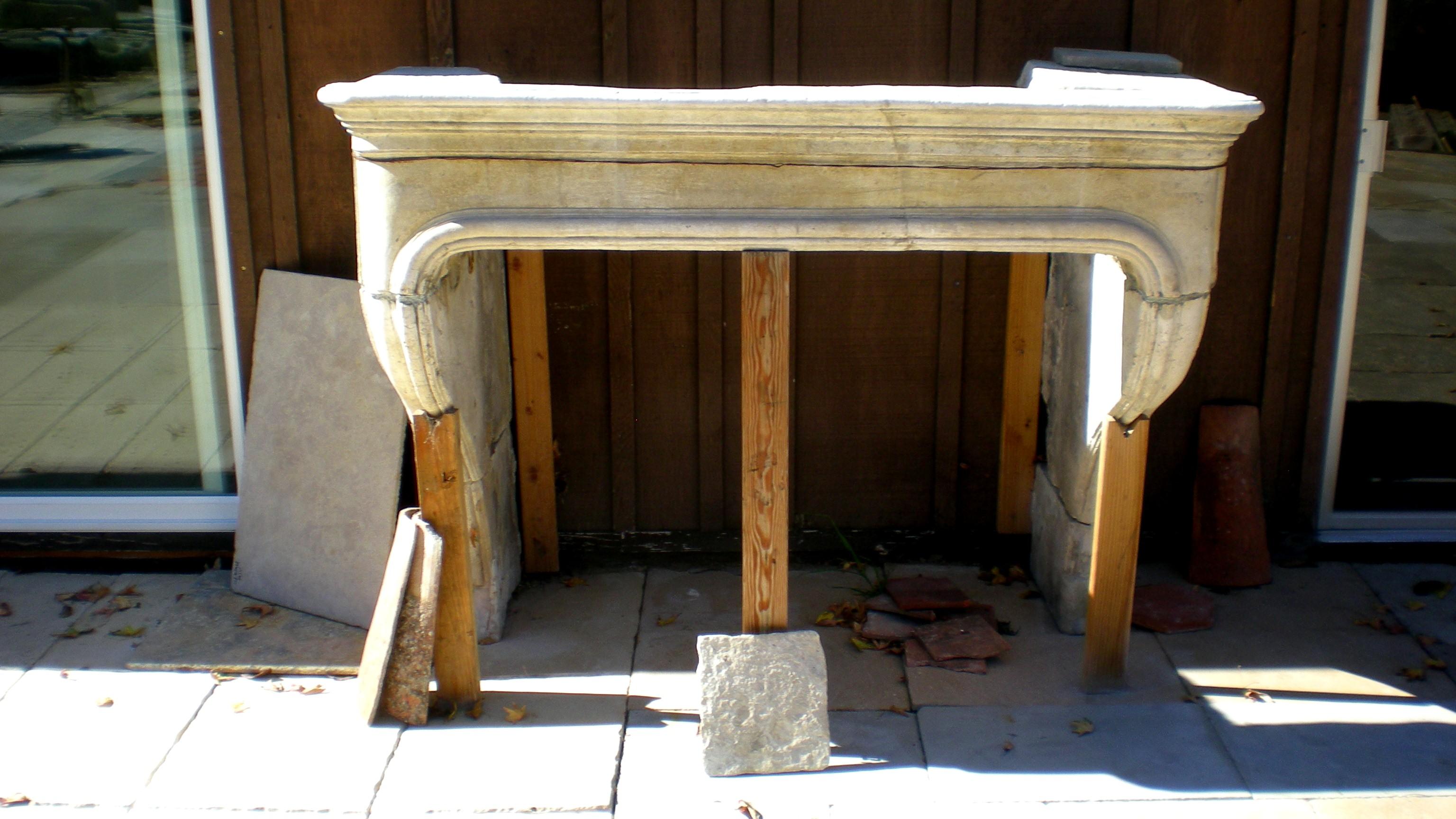 Italian Reclaimed Fireplace