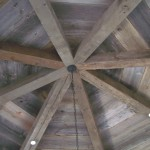 Old Reclaimed Mixed softwood beams and wood flooring