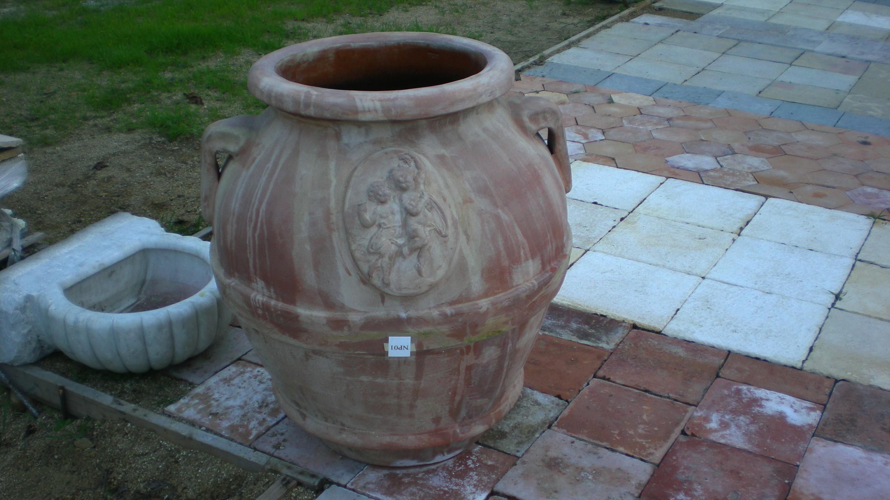 Antique European Garden Pot