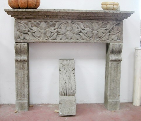 Reclaimed Ancient Fireplace