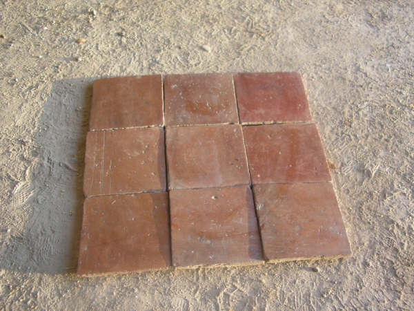 Spanish Terra Cotta Reclaimed Flooring