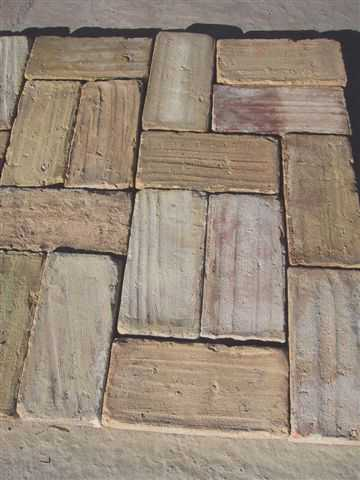 Spanish Rose Terra Cotta Reclaimed Flooring