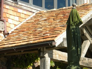 reclaimed french roof tiles