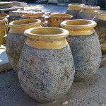 Ancient Reused Recycled French Pot