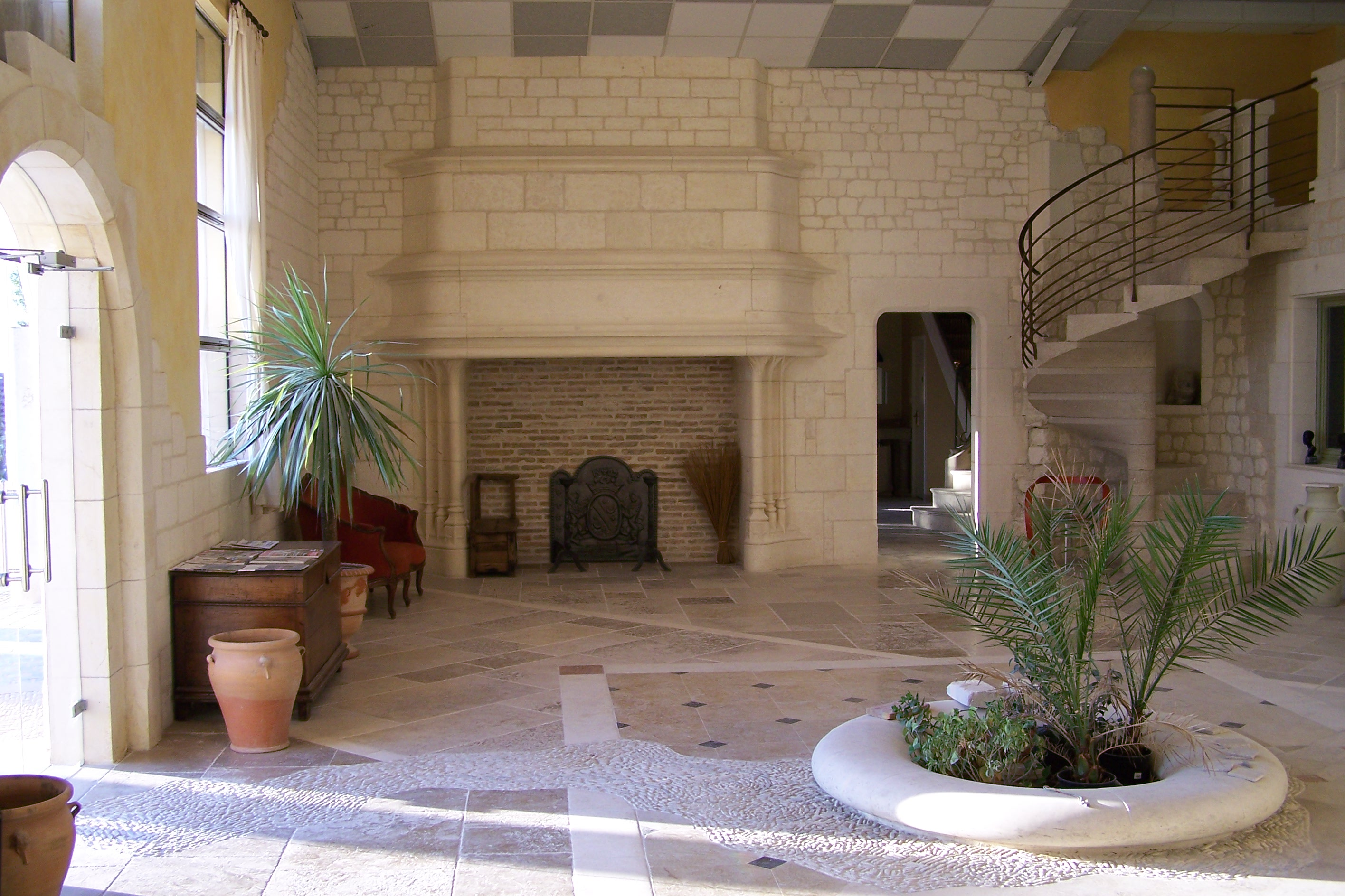 French Reclaimed LimeStone Flooring
