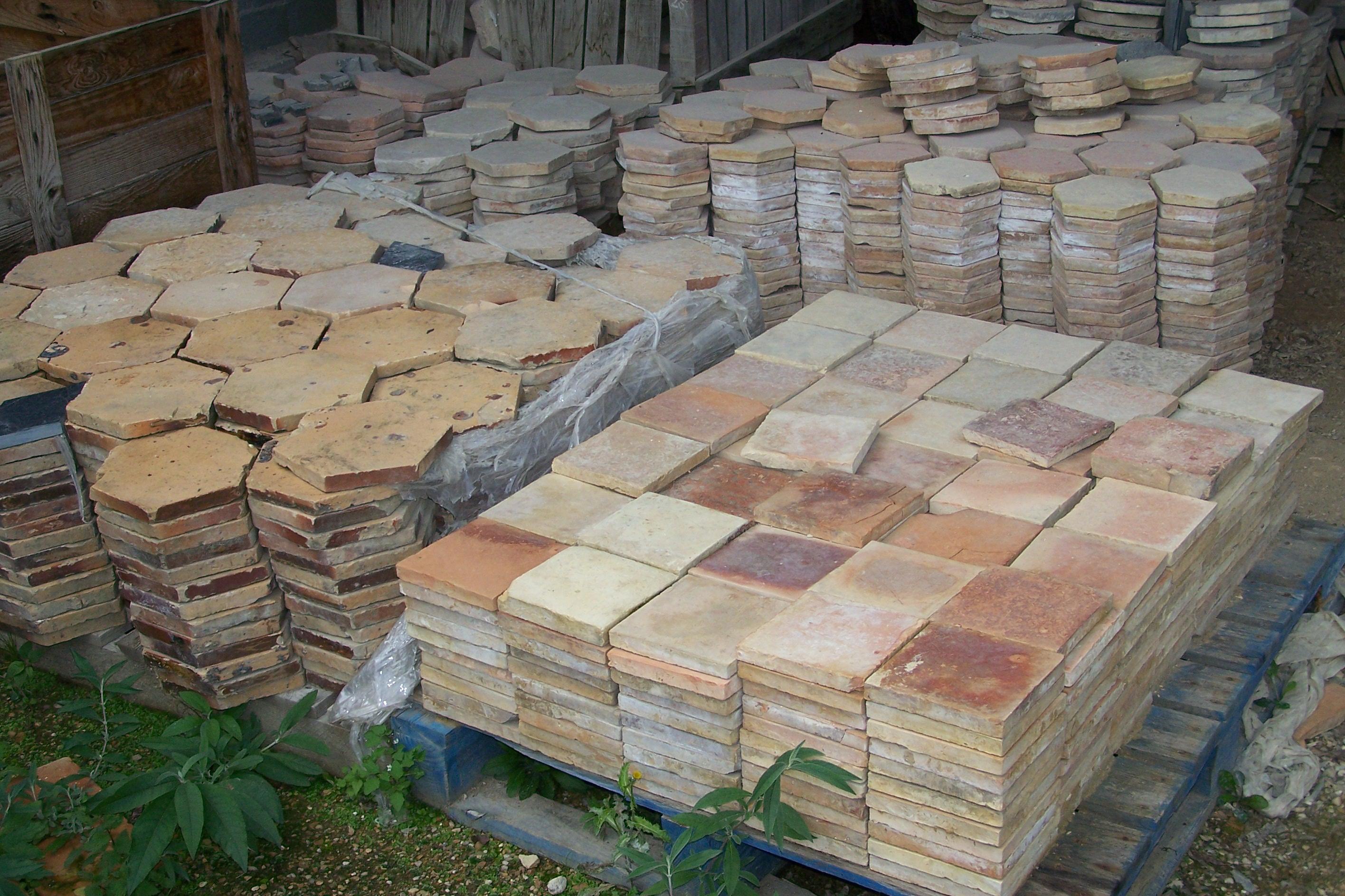 French Terra Cotta Reclaimed Flooring