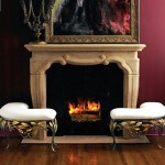 Rustic Spanish Fireplace