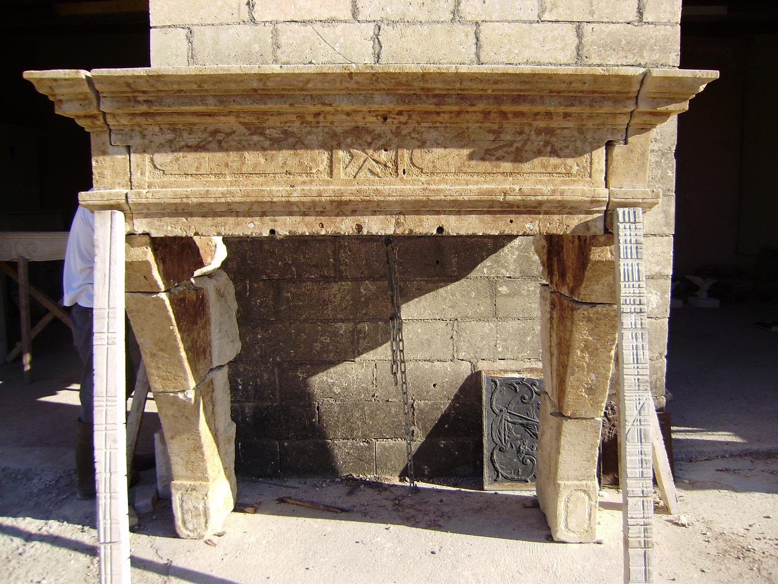 Reclaimed 18th Century Fireplace Mantel