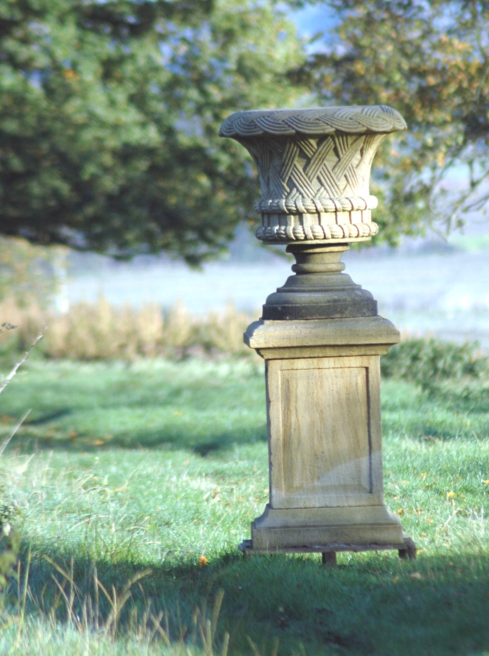 Reclaimed Rustic French Urn