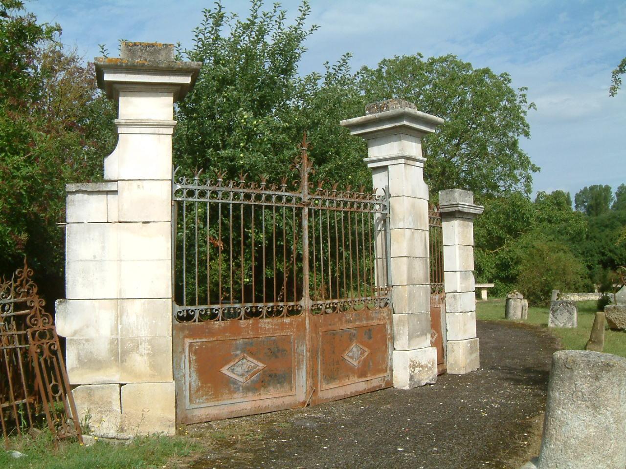 Reclaimed European Stone Gate