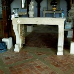 Rustic Reclaimed Portugese Fireplace