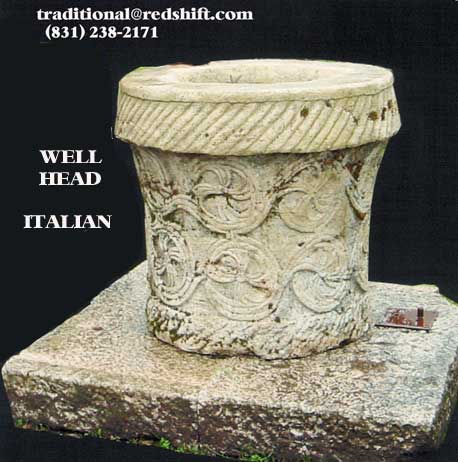 Antique Italian Well Head