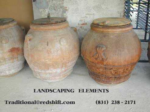 Ancient Reused Recycled European Pot