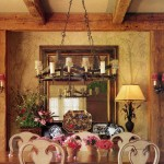 Antique beams and cabinets