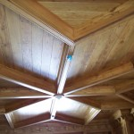 Reclaimed Rustic Chestnut Ceiling And Beams