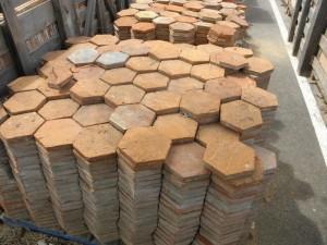 Spanish Rose Terra Cotta Reclaimed Flooring