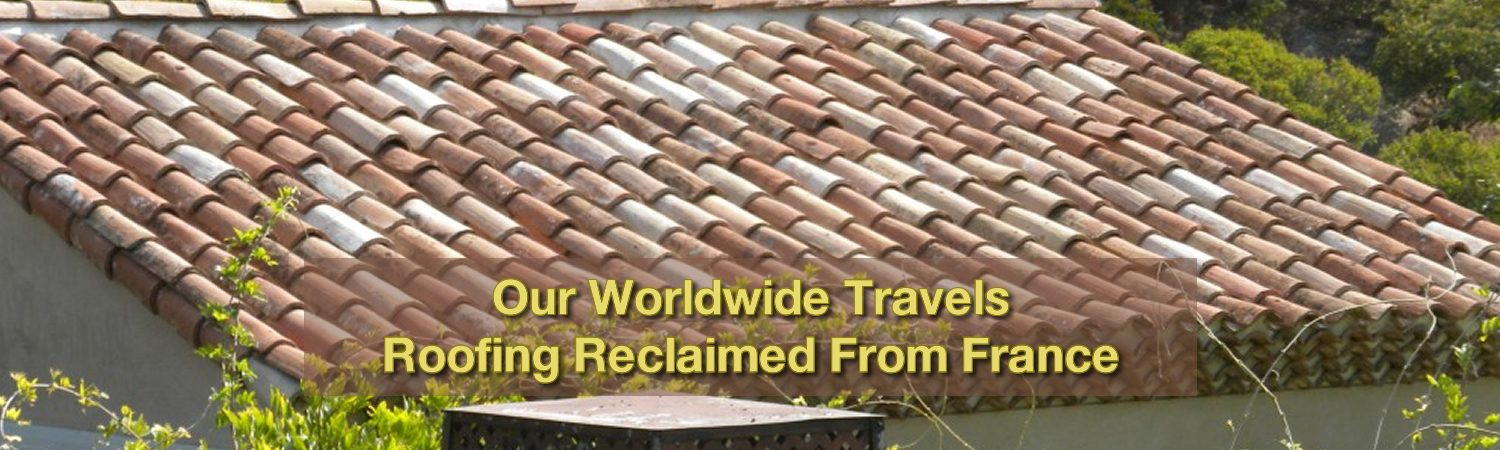Used Vintage French Roofing Reclaimed materials