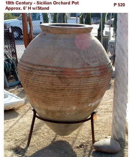 Rustic Sicilian Orchard Pot