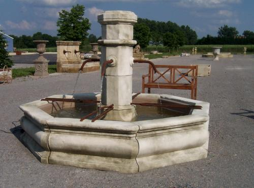 Rustic French Reclaimed Fountain