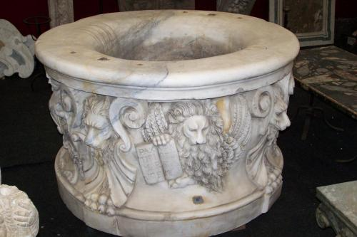 Antique Marble Wellhead Museum Quality