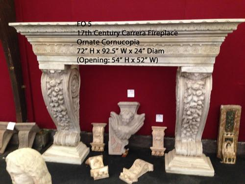 Rare Carrera Marble 17th, Century