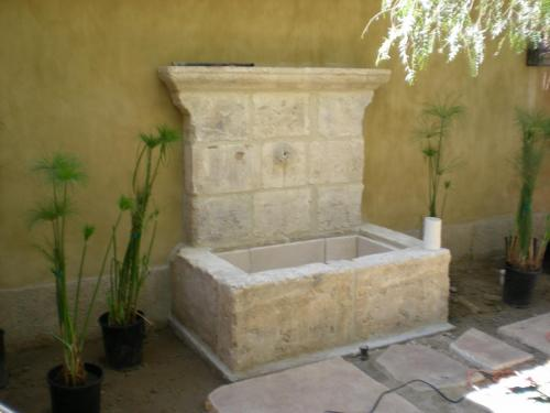 Antique Rustic Reclaimed Fountain