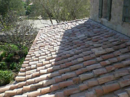Vintage Italian Roofing Reused