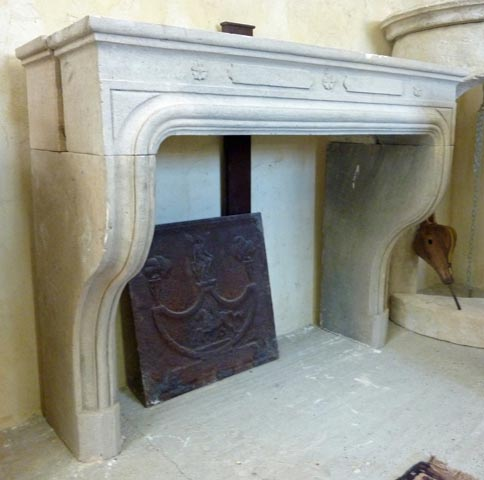 French Fireplace Reproduction