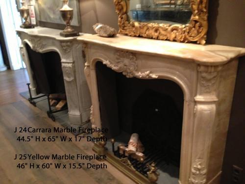 Reclaimed European Fireplaces