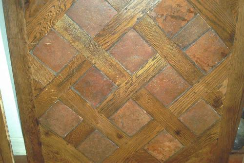 Flooring Basket Wood Tile