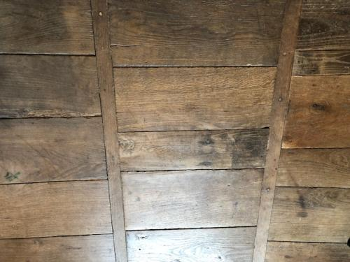French Antique Wood Floor